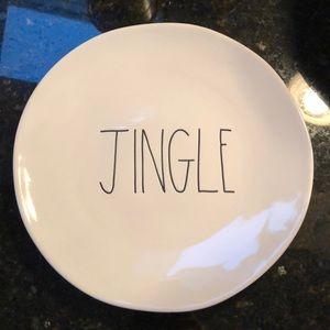 Rae Dunn jingle plate